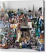 Hollywood Tourist Canvas Print