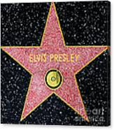 Hollywood Walk Of Fame Elvis Presley 5d28923 Canvas Print