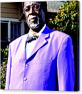 Hollywood Wearing His Dress Suit And Bow Tie Color Photo Usa Canvas Print