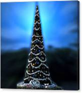 Hollywood Xmas Tree Walt Disney World Canvas Print