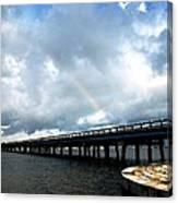 Holmes Beach Bridge Canvas Print