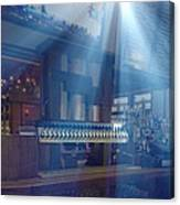 Holy Beer Taps Batman Canvas Print