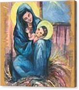 Holy Christmas No. 1  Canvas Print