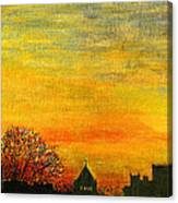 Holy City Sunset Canvas Print