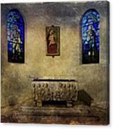 Holy Grunge Canvas Print