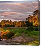 Holy Source 3. Karelia Canvas Print