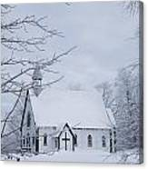 Holy Trinity Anglican Church And Canvas Print