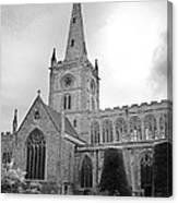 Holy Trinity Church Stratford Upon Avon Canvas Print