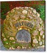 Holy Well Canvas Print