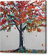 Homage To Autumn Canvas Print