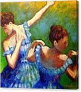 Homage To Degas Canvas Print