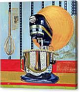 Homage To Julia Canvas Print