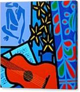 Homage To Matisse I  Canvas Print