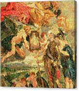 Homage To Rubens Canvas Print