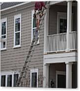 Home Construction Canvas Print
