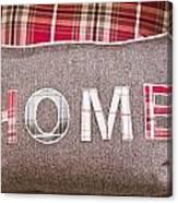 Home Cushion Canvas Print