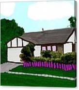 Home Of A Dear Friend Canvas Print
