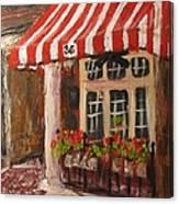 Home Of Annelle's Jack Daniel's Chocolate Pecan Pie Canvas Print