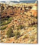 Home Of Calf Creek Falls Canvas Print