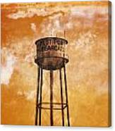 Home Of The Pilot Point Bearcats Canvas Print