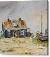 Home Sweet Home Dungeness Canvas Print