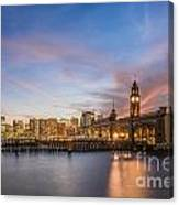 Home To Hoboken Canvas Print