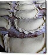 Homemade Lithuanian Dumplings Canvas Print