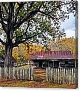 Homestead On The Buffalo Canvas Print