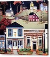 Hometown America Canvas Print