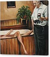Homicide Photographer  Canvas Print