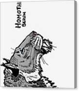 Homotherium Canvas Print