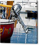 Honda Boat Engine Canvas Print