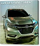 Honda Urban Suv Concept  2 Canvas Print