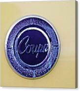 Honda Z600 Coupe Medallion Canvas Print