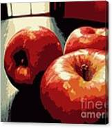 Honey Crisp Apples Canvas Print