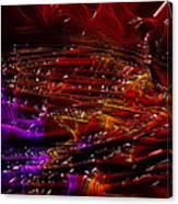 Honey Lava Canvas Print