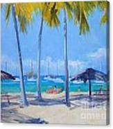 Honey Moon Beach Day Canvas Print