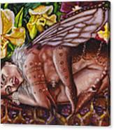 Honeymoon - Bhramari Devi Canvas Print