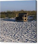 Honeymoon Island Beach Canvas Print