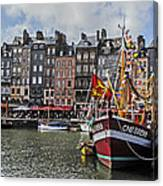 Honfleur Holiday Canvas Print