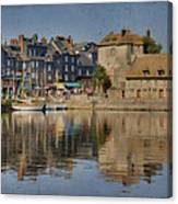 Honfleur In Normandy France Canvas Print