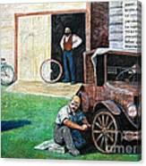Hong Hing Mural Detail Canvas Print