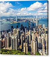 Hong Kong 01 Canvas Print