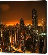 Hong Kong Gotham Canvas Print