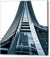 Hong Kong Icc Skyscraper Canvas Print