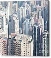 Hong Kong Suburbs Canvas Print