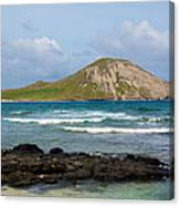 Honolulu Hi 5 Canvas Print
