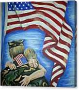 Honor Our Troops Canvas Print
