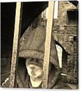 Hooded Prisoner Canvas Print