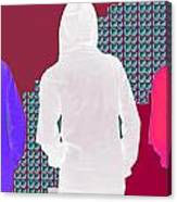 Hoodie Gang Graffiti Fashion Background Designs  And Color Tones N Color Shades Available For Downlo Canvas Print